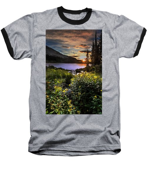 Mitchell Sunrise Baseball T-Shirt by Steven Reed