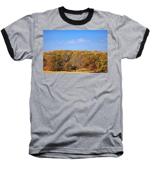 Mixed Fall Baseball T-Shirt by Leeon Pezok