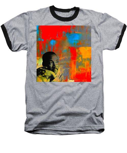 Mlk Dreams Baseball T-Shirt