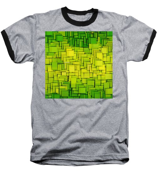 Modern Abstract Xxxiii Baseball T-Shirt by Lourry Legarde