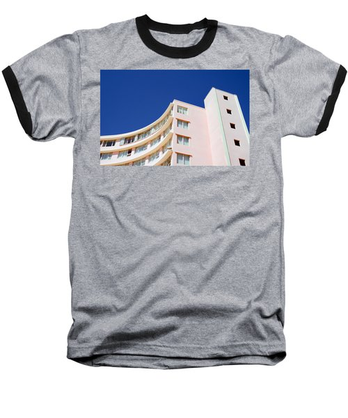 Baseball T-Shirt featuring the photograph Modern Curves by Keith Armstrong