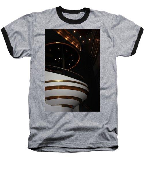 Modern Loge Baseball T-Shirt by Kristin Elmquist