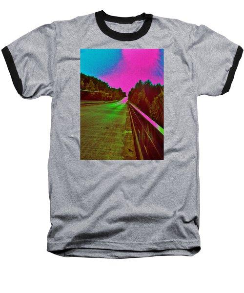 Baseball T-Shirt featuring the photograph Moffit Bridge And Maple Ridge Rd. by Daniel Thompson