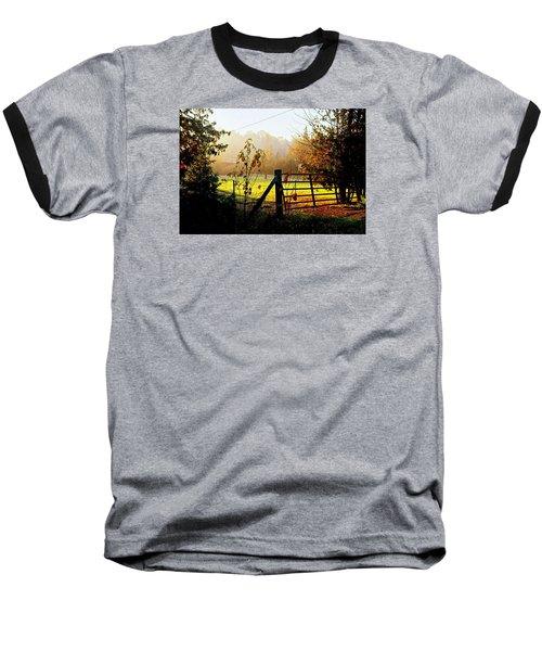 Baseball T-Shirt featuring the photograph Moffit Bridge  by Daniel Thompson