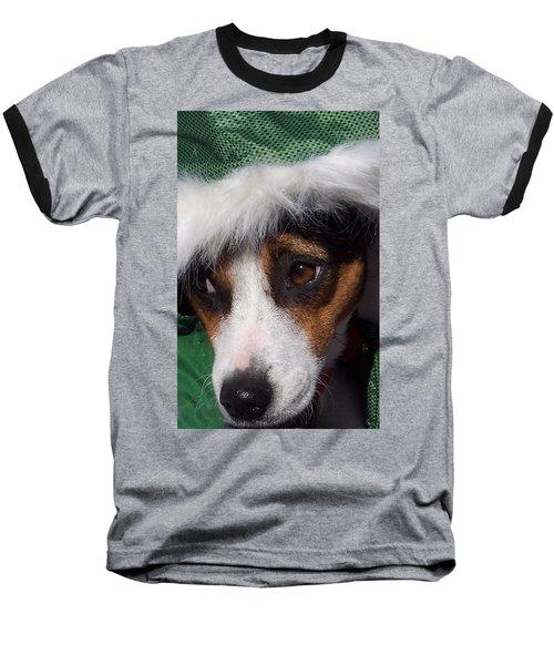 Mojo's New Holiday Coat Baseball T-Shirt