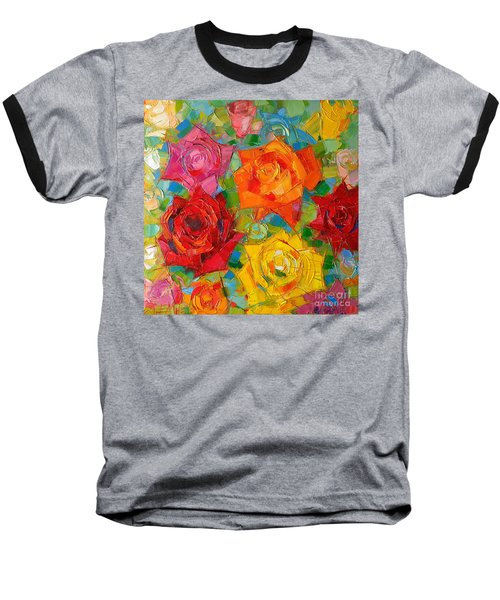 Mon Amour La Rose Baseball T-Shirt