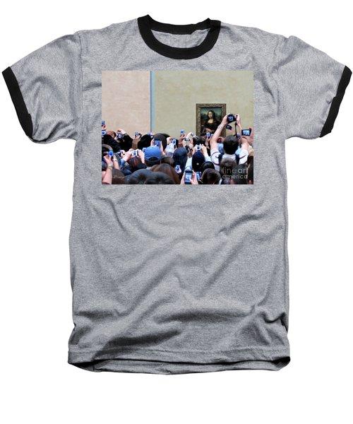 Mona Mobbed Baseball T-Shirt by Jennie Breeze