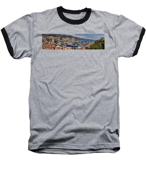 Monaco Panorama Baseball T-Shirt