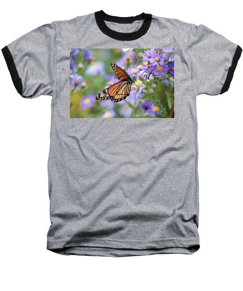Monarch Butterfly 3 Baseball T-Shirt