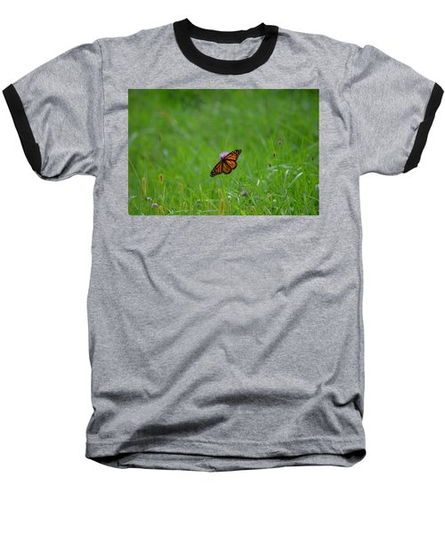 Baseball T-Shirt featuring the photograph Monarch Butterfly by James Petersen