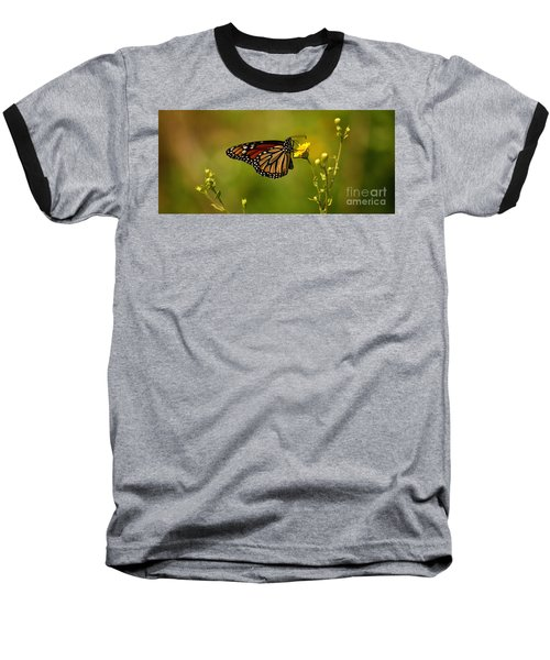 Monarch Moment Baseball T-Shirt