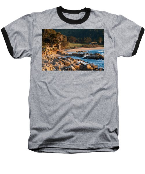 Monastery Beach In Carmel California Baseball T-Shirt