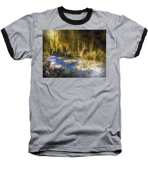 Monet After Midnight Baseball T-Shirt by RC deWinter
