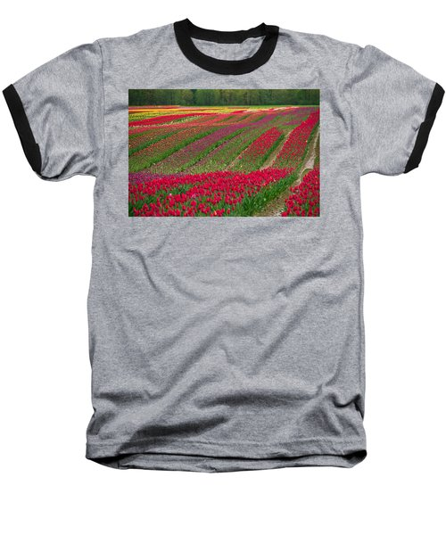 Monet Alive Baseball T-Shirt by Eti Reid