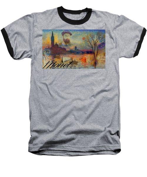 Monet-esque Baseball T-Shirt
