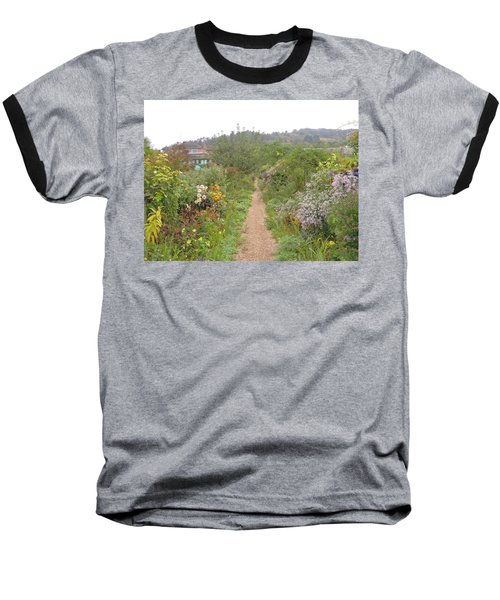 Monet's Garden 5 Baseball T-Shirt