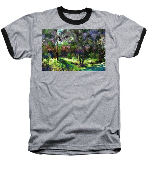 Monet's Garden Baseball T-Shirt
