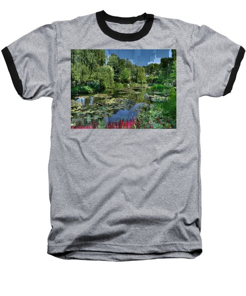Monet's Lily Pond At Giverny Baseball T-Shirt