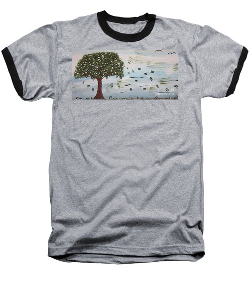 The Money Tree Baseball T-Shirt by Jeffrey Koss