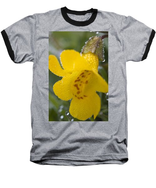 Baseball T-Shirt featuring the photograph Monkey In Yellow by Sonya Lang