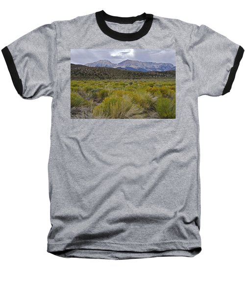 Mono Basin Lee Vining 1 Baseball T-Shirt