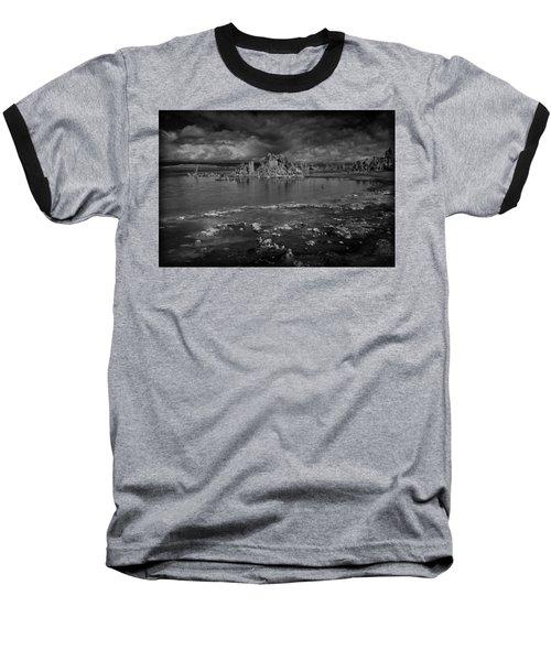 Mono Lake Tufa Baseball T-Shirt by Ralph Vazquez