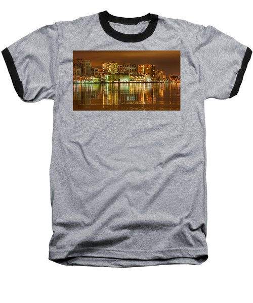 Monona Terrace Madison Wisconsin Baseball T-Shirt by Steven Ralser