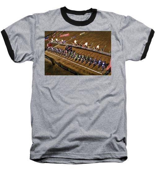 Monster Energy Ama Supercross  450sx Main Baseball T-Shirt