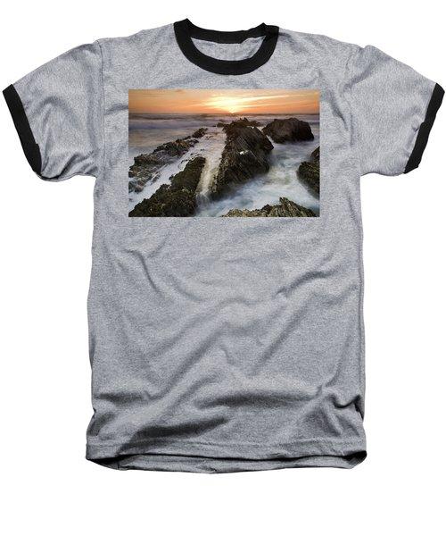 Montana De Oro Sunset 1 Baseball T-Shirt