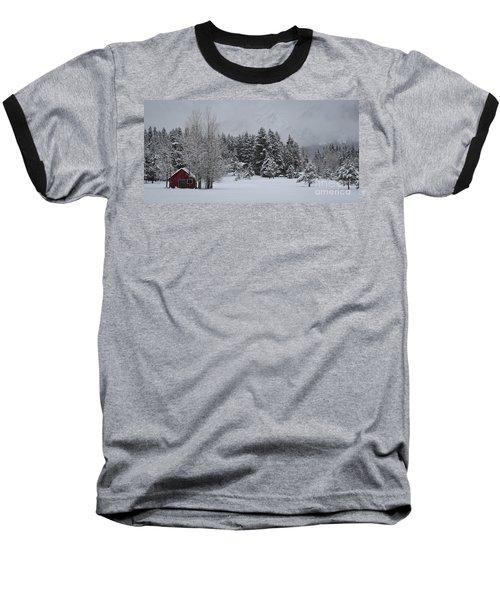 Montana Morning Baseball T-Shirt by Diane Bohna