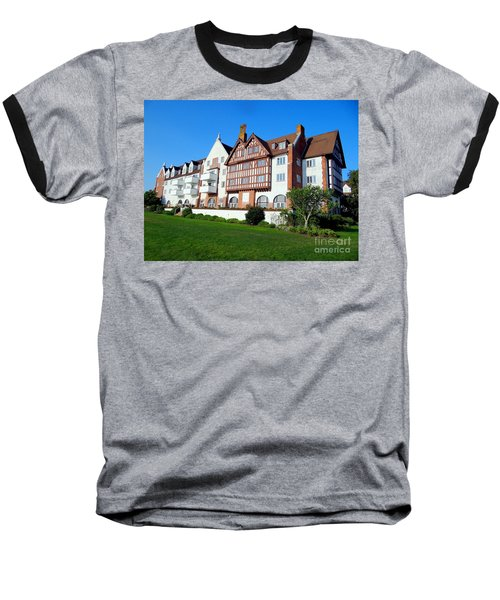 Montauk Manor Baseball T-Shirt by Ed Weidman
