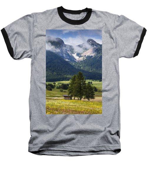 Monte Bondone Baseball T-Shirt