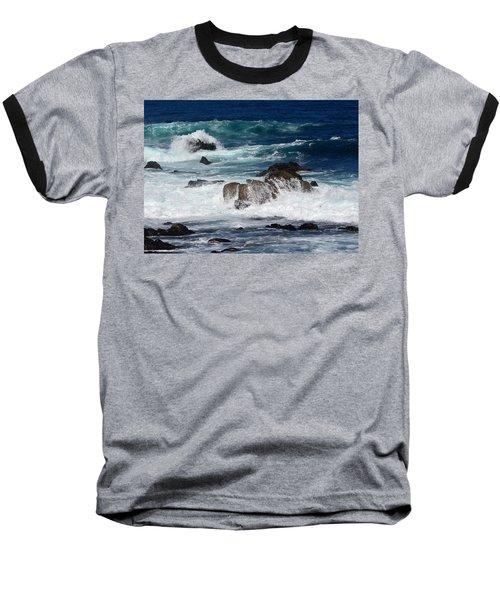 Baseball T-Shirt featuring the photograph Monterey-6 by Dean Ferreira