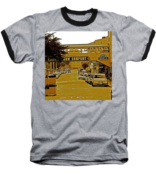Monterey Cannery Row Company Baseball T-Shirt