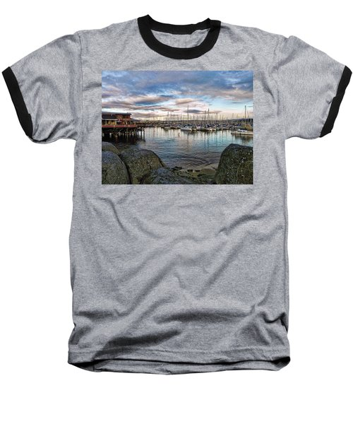 Monterey Marina California Baseball T-Shirt by Kathy Churchman
