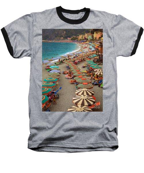Monterosso Beach Baseball T-Shirt