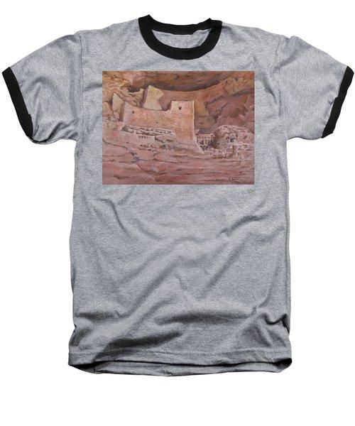 Montezumas Castle Baseball T-Shirt