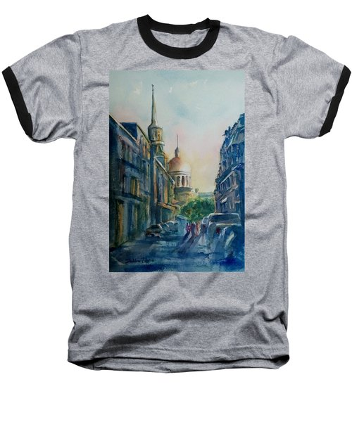 Montreal Skyline Baseball T-Shirt