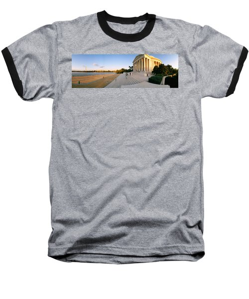 Monument At The Riverside, Jefferson Baseball T-Shirt by Panoramic Images