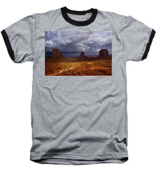 Monuments Of The West Baseball T-Shirt