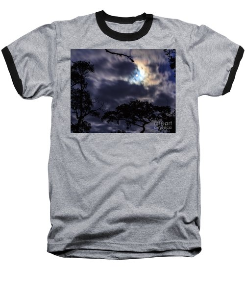 Moon Break Baseball T-Shirt