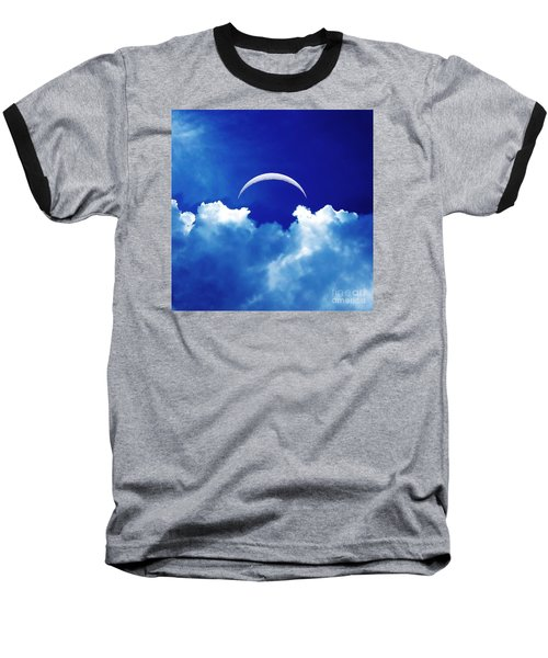 Moon Cloud Baseball T-Shirt