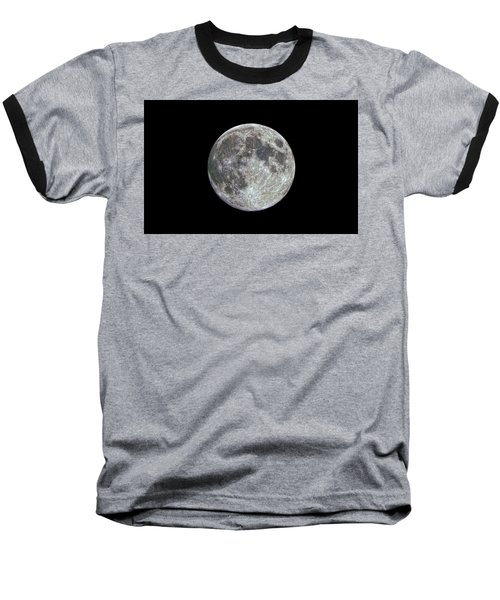 Baseball T-Shirt featuring the photograph Moon Hdr by Greg Reed