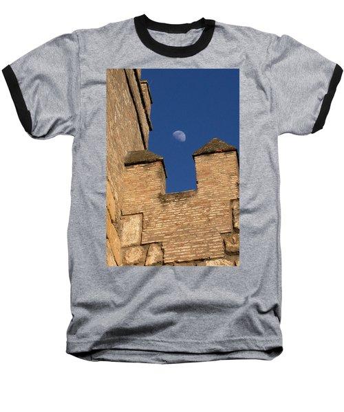 Moon Over Alcazar Baseball T-Shirt