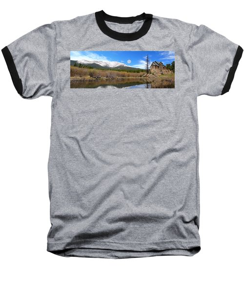 Moon Over St. Malo Baseball T-Shirt