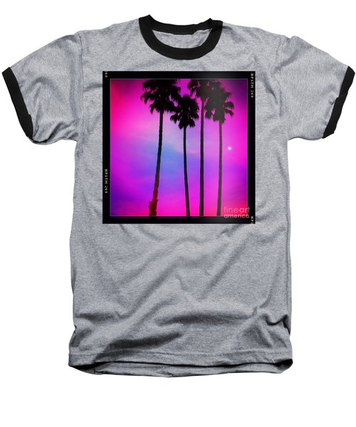Moon Palms Baseball T-Shirt