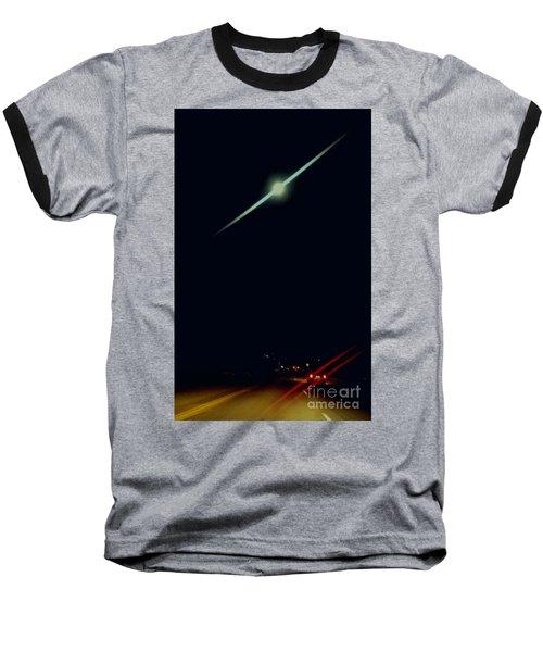 Moondate Baseball T-Shirt by Angela J Wright