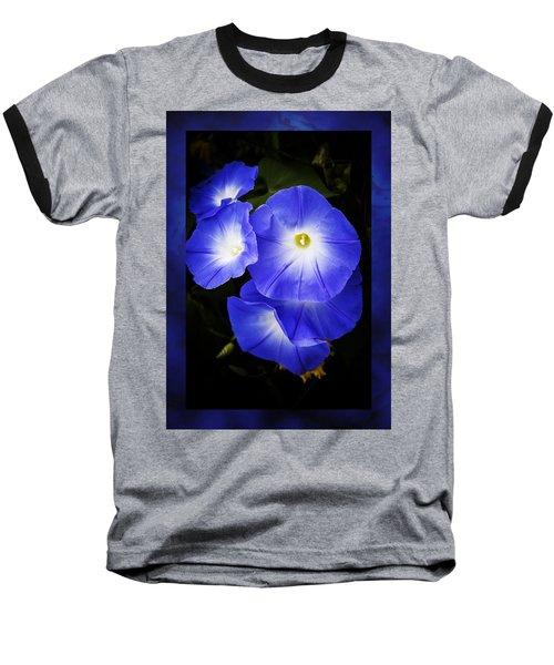 Moonglow On Blue Baseball T-Shirt