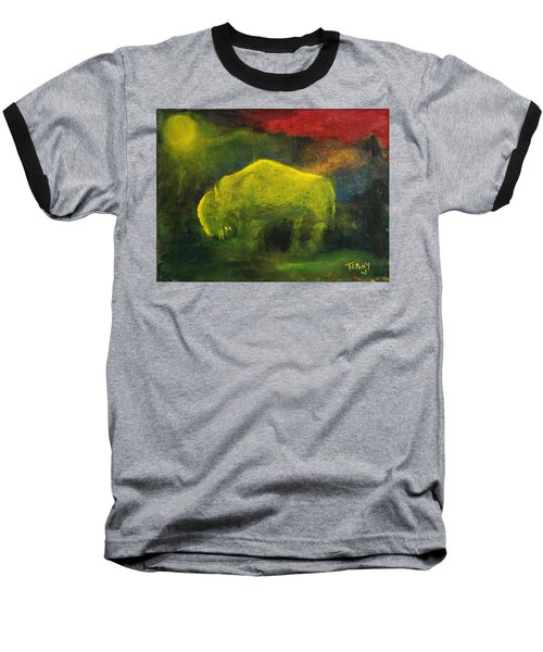 Moonlight Buffalo Baseball T-Shirt