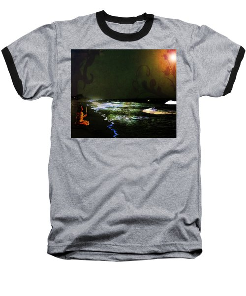 Moonlight Gives Girl Hope In The Darkness Baseball T-Shirt